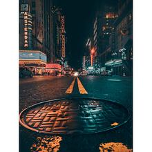 Tela Canvas Manhole 40x30 Inspire