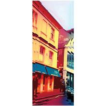 Tela Casa Vermelha 25x70cm