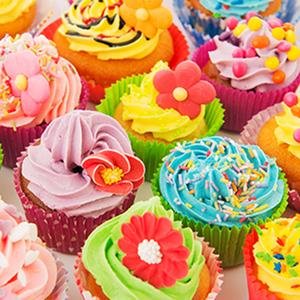 Tela Color Cupcakes 30x30cm