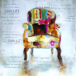 Tela Colored Chair 30x30cm