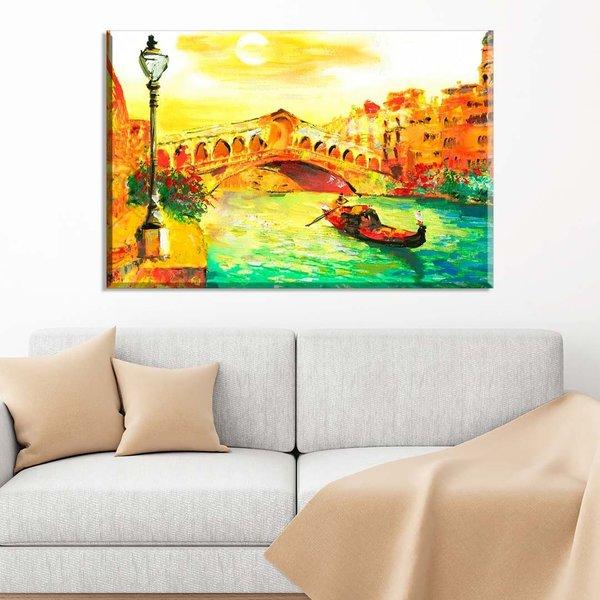13e1b25d8 Tela Decorativa Abstrato Pintura Veneza