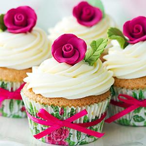 Tela Flower Cupcakes 30x30cm