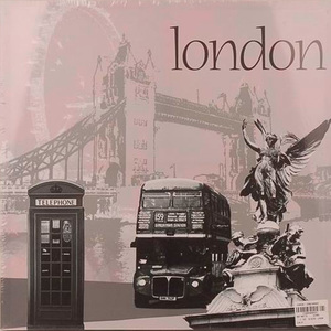 Tela Londres 40x40cm