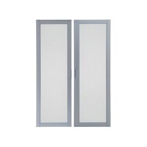 Tela Mosquiteira para Janela Alumínio Natural Acetinado Modelo JCSB4F JCHB4F Aluminium 120 x 150 cm Sasazaki