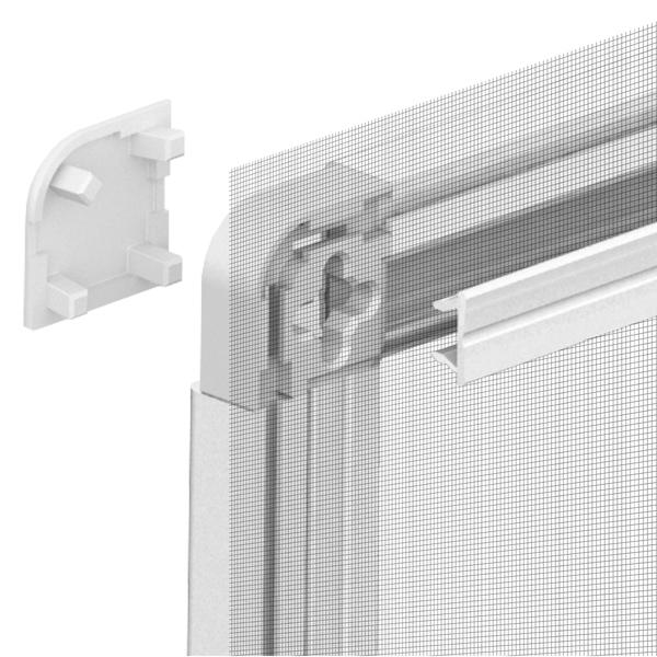 Tela mosquiteira com moldura para janela alum nio 1 30x1 - Leroy merlin molduras pared ...