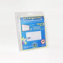 Tela Mosquiteiro Com Velcro Branca 1,55X1,25m Victoria Reggia