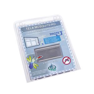 Tela Mosquiteiro com Velcro Cinza 0,80x0,80m