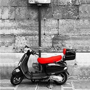 Tela Motorbike 30x30cm