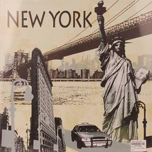 Tela New York 40x40cm