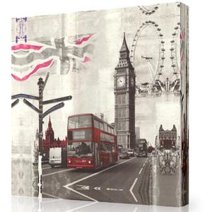 Tela Old London 50x50cm