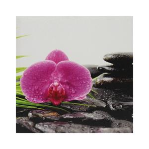 Tela Pedra e Flor 30x30cm