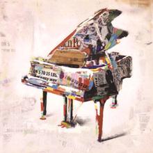 Tela Piano 60x60cm