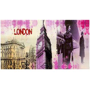 Tela Pink London 90x50cm