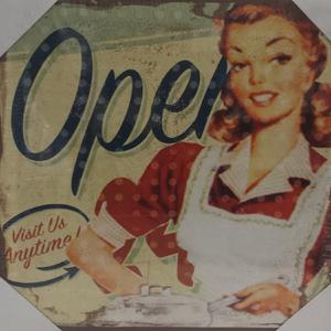 Tela Retrô Open 30x30cm