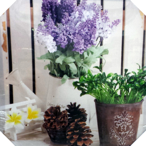 Vasinhos de plantas leroy merlin for Flores artificiales leroy merlin