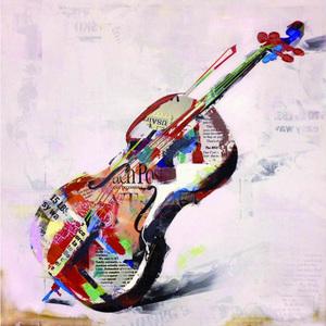 Tela Violino 60x60cm