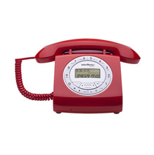 Telefone com Fio Vermelho TC8312 Intelbras