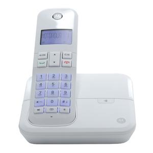 Telefone sem Fio Branco Motorola