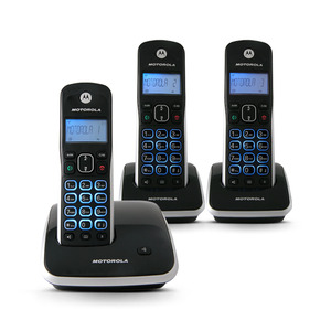 Telefone sem Fio com Identificador com mais 2 Ramais AURI 3500 Motorola