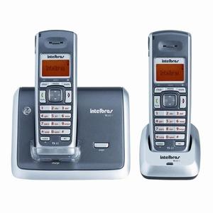 Telefone sem Fio Id Dig+Ramal InTelefonebras Ts62C