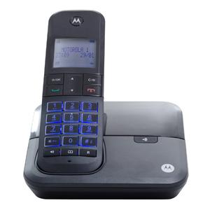 Telefone sem Fio Preto Motorola