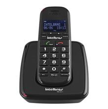Telefone sem Fio Preto TS 63 V Intelbras