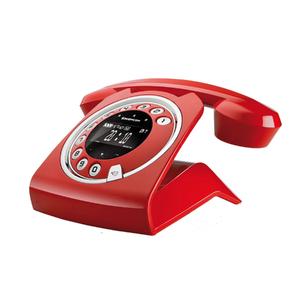 Telefone sem Fio Vermelho SIXTY Sagemcom