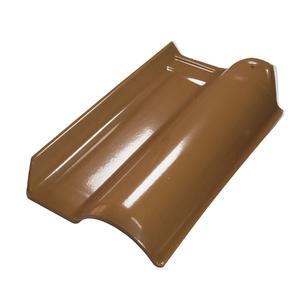 Telha Americana Esmaltada Caramelo 42.3x25.3x5cm Real Telhas