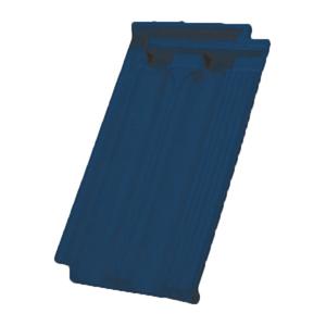 Telha Cerâmica Francesa Poliéster Azul Cláudio Vogel