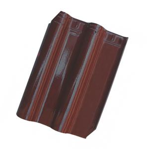 Telha Cerâmica Premier Bordô 2 Lados 33x42cm Cejatel