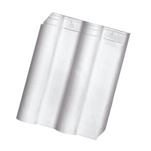 Telha Cerâmica Premier Branca 1 Face 33x42cm Cejatel