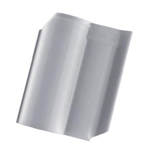 Telha Cerâmica Wave Cinza 2 Lados 27x42cm Cejatel