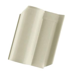 Telha Cerâmica Wave Marfim 1 Face 27x42cm Cejatel