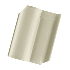 Telha Cerâmica Wave Marfim 2 Lados 27x42cm Cejatel