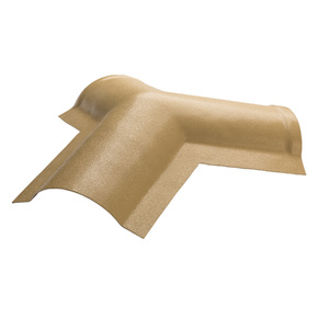 Telha Cumeeira de PVC Colonial Marfim 270x270cm Araforros