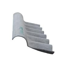 Telha de Fibrocimento Cumeeira Econoflex Articulada Superior 110x24cm Infibra