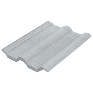 Telha de Concreto Clássica Cinza Pérola Tégula