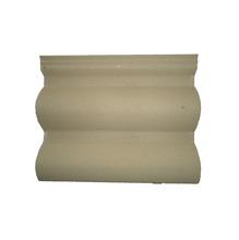 Telha de Concreto Coppo Veneto com Resina Bege Champagne 33x42cm Tegovale