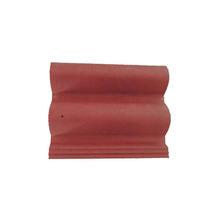 Telha de Concreto Coppo Veneto com Resina Vermelho 33x42cm Tegovale