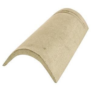 Telha de Concreto Cumeeira Espigão Palha Teggo Telhas