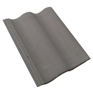 Telha de Concreto Slim Cinza Pérola Tegovale