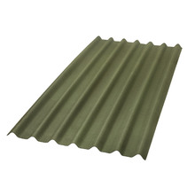 Telha de Fibra Vegetal Stilo Verde 2x0,95m Onduline