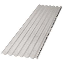 Telha de Fibrocimento Fibrotex CRFS Cinza 2,44x0,50mx4mm Brasilit