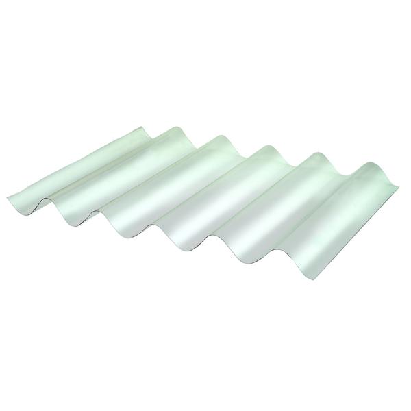 Telha de policarbonato onduclair pc leitosa 200x95cm for Policarbonato compatto leroy merlin