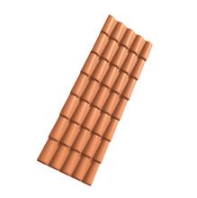 Telha de PVC Colonial Cerâmica 230x88 Permatti