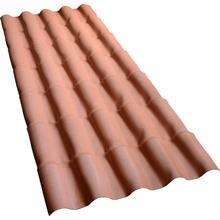 Telha de PVC Colonial Cerâmica 5,5x88x394cm Permatex