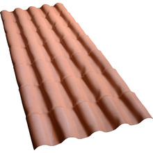 Telha de PVC Colonial Cerâmica 5,5x88x525cm Permatex
