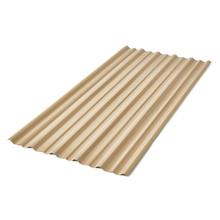 Telha de PVC Trapezoidal Marfim 92x500cm Precon