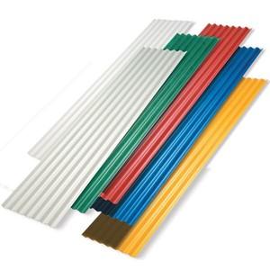 Telha Fibra Vidro Incolor 1,22 x 0,5 m 0,6 mm