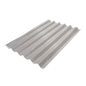 Telha Fibra Vidro Incolor 1,53 x 1,1 m 0,8 mm